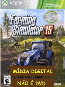 Farming Simulator 15 Xbox 360 - Mídia Digital