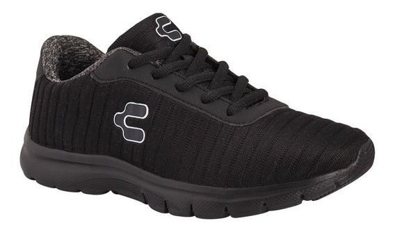 Tenis Deportivo Para Correr Charly 9151 Color Negro