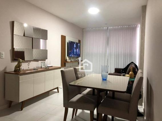 Apartamento Com 2 Dormitórios À Venda, 60 M² Por R$ 310.000 - Praia De Itaparica - Vila Velha/es - Ap0179
