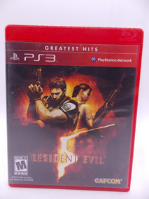 Resident Evil 5 Play Station 3 Original Mídia Física