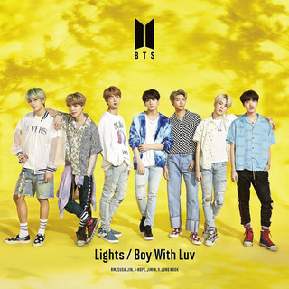 Bts Lights/boy With Luv (music Videos) Cd + Dvd Nuevo Import