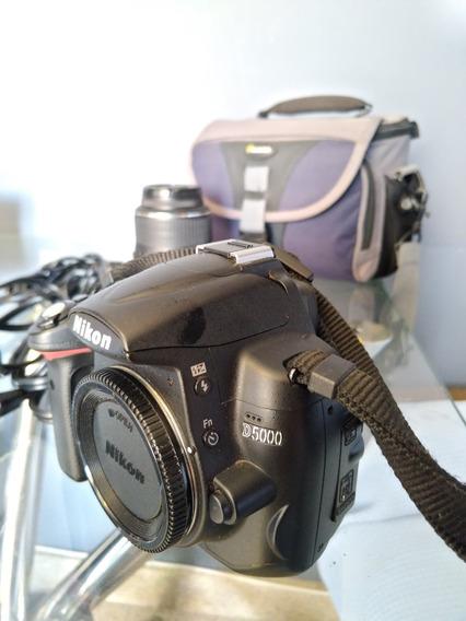 Câmera Nikon D5000 Com Lente Original 18-55mm