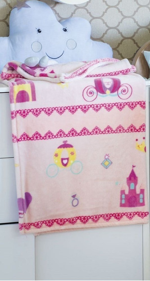 Cobertor Microfibra Flannel Rosa - Kyor Plus Baby - Jolitex
