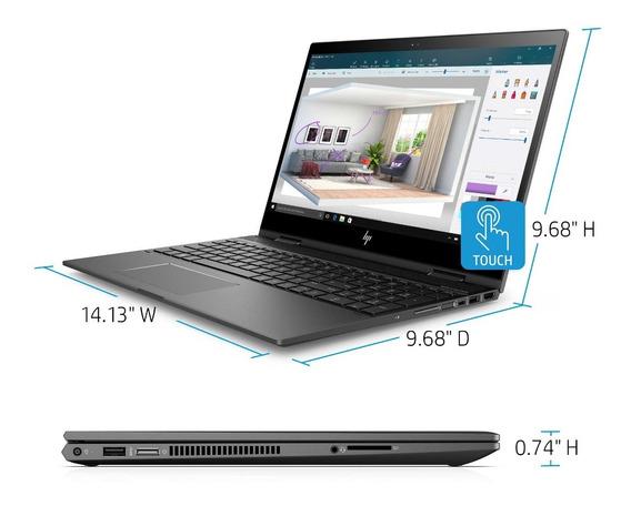 Laptop Hp I7 Envy X360 8gb 512gb