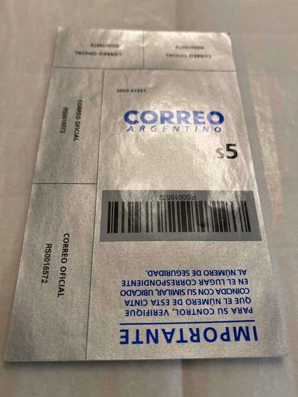 Cierre De Caja Correo Argentino 5$ 2019