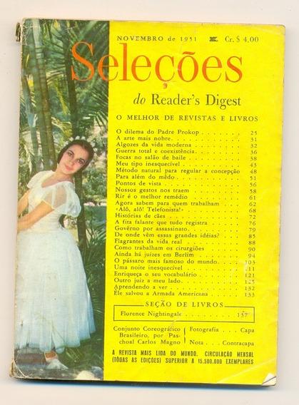 *sll* Revista Seleções Do Readers Digest - Novembro De 1951