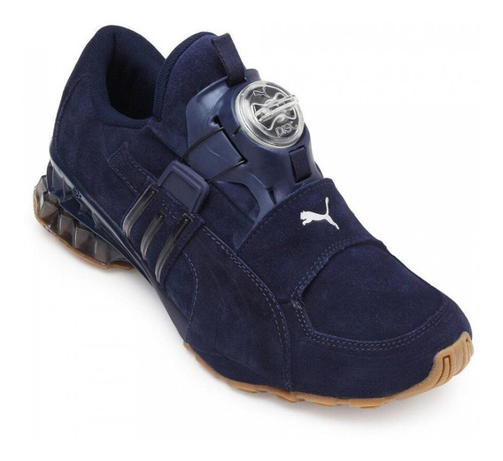 Tênis Puma Disc Cell Aether Nature Masculino - Marinho/prata