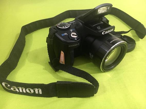 Câmera Canon Powershot Sx500 Is 16.0 Megapixels