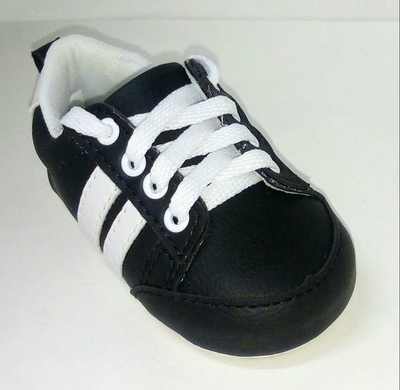 Sapato/tenis De Bebê Menino Fácil De Calçar E Confortável