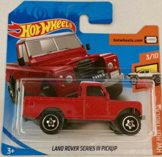 2019 Hot Wheels Land Rover Series 3 Pickup Fyb54