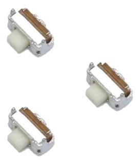 Botão Chave Power On/off Volume LG D157f D175f E415 03 Unid.