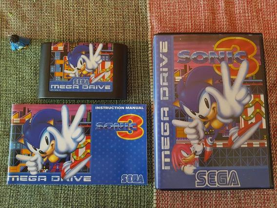 Sega Mega Drive Sonic The Hedgehog 3 Original Europeu