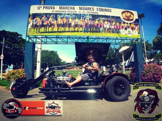Triciclo Motor Frontal V 8 Motor 318 Dorge