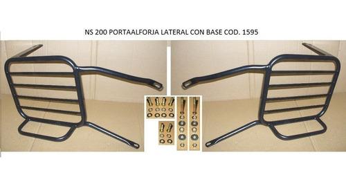 Soporte Lateral Alforja C/base Bajaj 200 Ns/pulsar