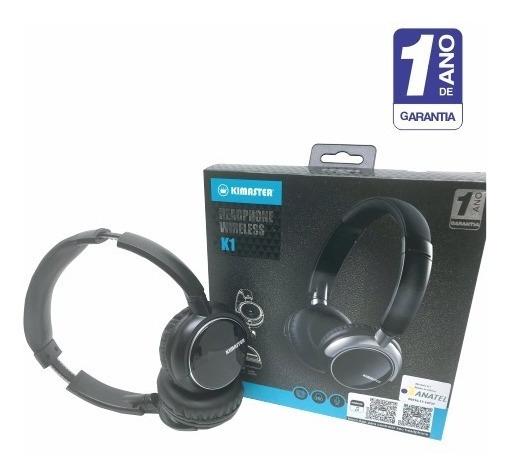 Fone De Ouvido - Headphone Bluetooth Com 1 Ano De Garantia