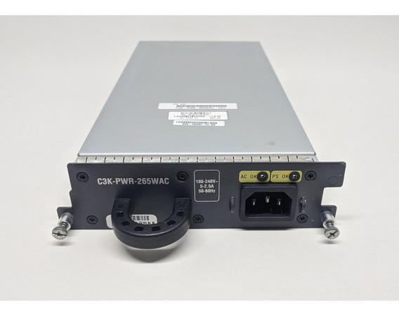 Fonte Cisco C3k-pwr-265wac Catalyst 3750-e 3560-e 265wac