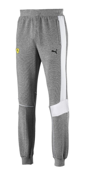 Pantalon Puma Ferrari Sweat Gri De Hombre