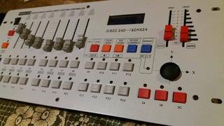 Consola Dmx Navigator 240 512 Canales Efectos Luces Dj Led