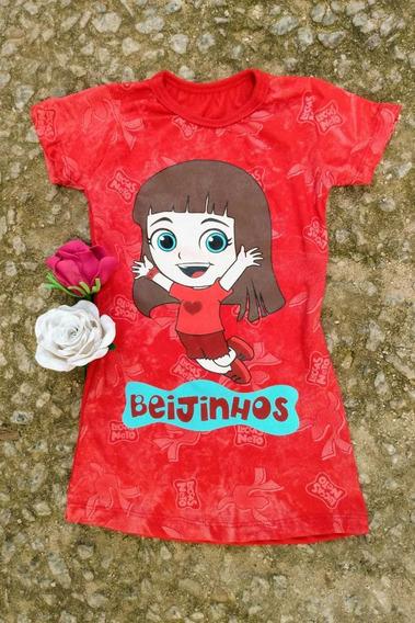 Promoção Vestido Infantil Gi Luccas Neto Dia Das Crianças