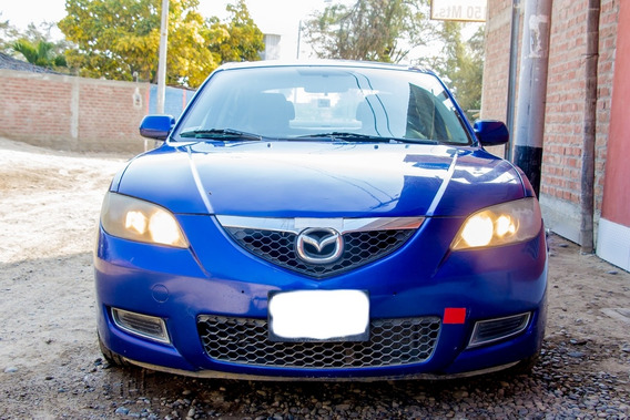 Mazda 3 Motor 1.6 Color Azul