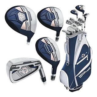 Kaddygolf Set Palos Golf Wilson Profile Xd Dama Nuevo Compl