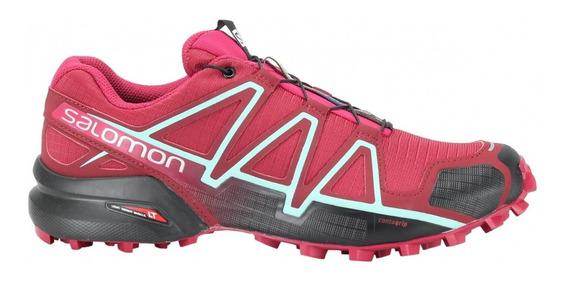 Tênis Salomon Speedcross 4 Vinho Feminino