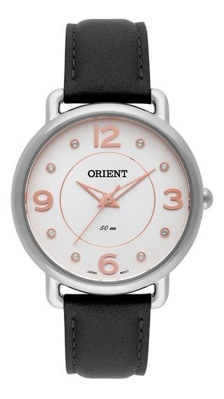 Relógio De Pulso Orient Feminino Com Pulseira De Couro Fbsc0