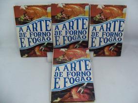 Livros Coleção A Arte De Forno E Fogão 4 Volumes