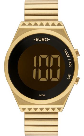 Relógio Feminino Euro Digital Fashion Slim Eubjt016aa/4d