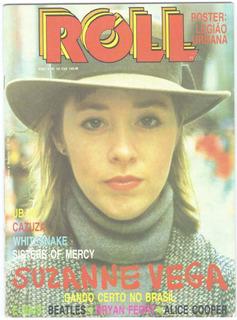 Suzanne Vega Whitesnake Alice Cooper Revista Roll Brasil