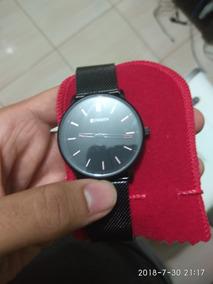 Relógio Curren Usado Pulseira De Aço