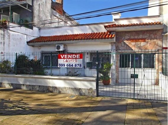 Venta De Casa En Parque Batlle De 4 Dormitorios Fondo Garage