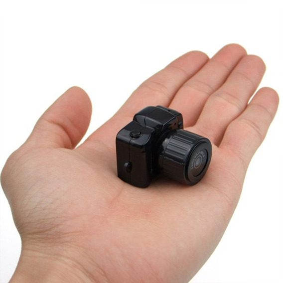 Mini Camara Espia Oculta Y3000 Full Hd 1080p Fotos 12mp Modelo Nuevo
