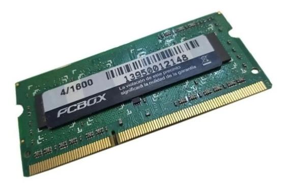 Memoria Sodimm 1.5v Memox Ddr3 4gb 1333 Ln-sd304133309sa7l
