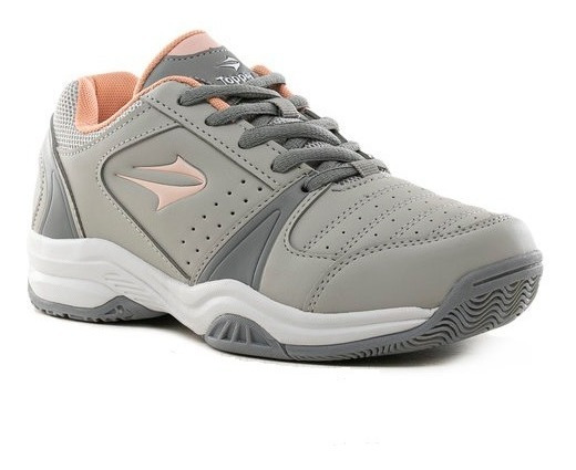 Zapatillas Topper Rod Gris/ Rosa 35 Al 40 52164