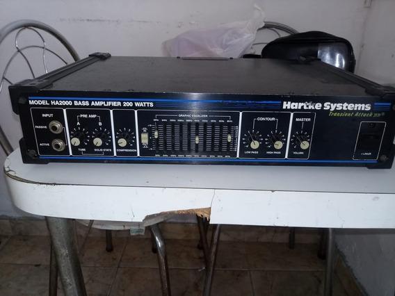 Cabeçote Baixo Hartke Ha2000