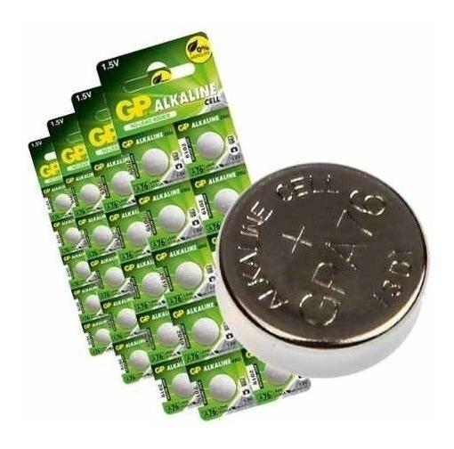 Bateria Alcalina A76f Lr44 Controles 1x10 10 Cartelas