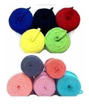 Trapillo Hermosos Colores Para Collar Bisuteria Lote 800 Mts