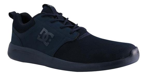 Tenis Hombre Calzado Midway Adys700136-nn1 Marino Dc Shoes