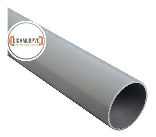 Tubo Pvc 110mm X 3mt Gris