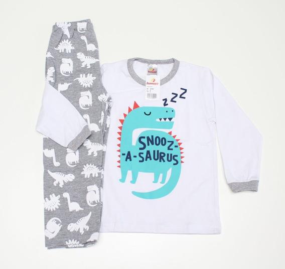 Pijama Infantil Masculino 100% Algodão Tam 01 A 10