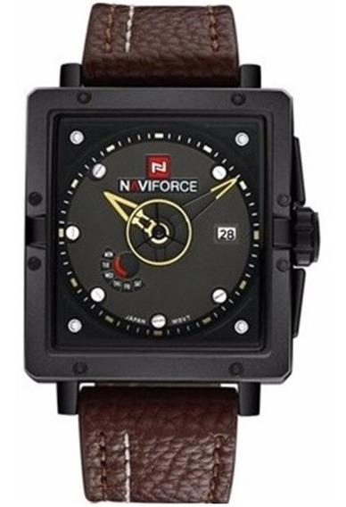 Relógio De Pulso Masculino Original Naviforce 9065