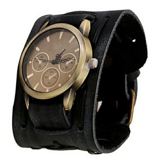 Relógio Masculino Bracelete Importado Com Pulseira De Brinde