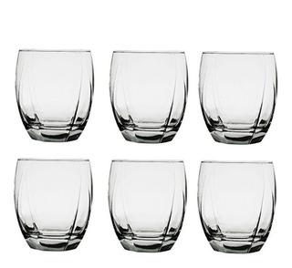 Set Juego De 6 Vasos Copas Para Whisky 345 Ml 12 Oz Nuevo