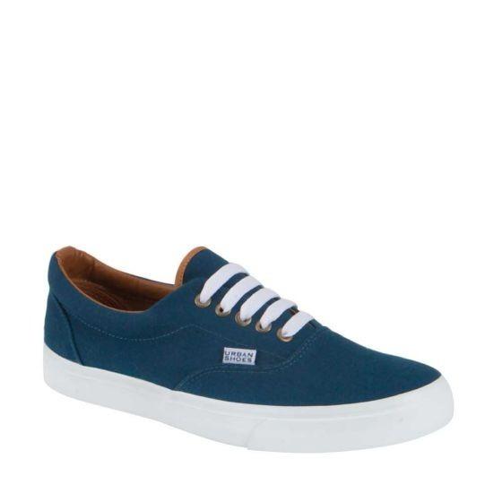 Tenis Casual Con Agujeta Bicolor Urban Shoes 2465 Urb 821309