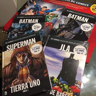 Comics Salvat Dc El Mercurio - 4 Numeros - Envio Gratis Superman Batman