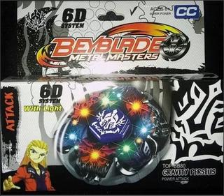 Beyblade Metal Master De Metal Con Luz