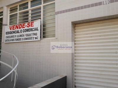 Casa Comercial Próximo Cólégio Pio Xi - Ca3364