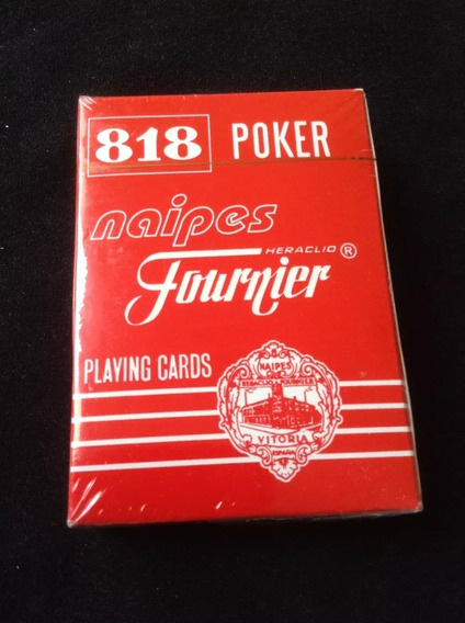 Cartas De Poker Barajas Naipes Marca Fournier 818