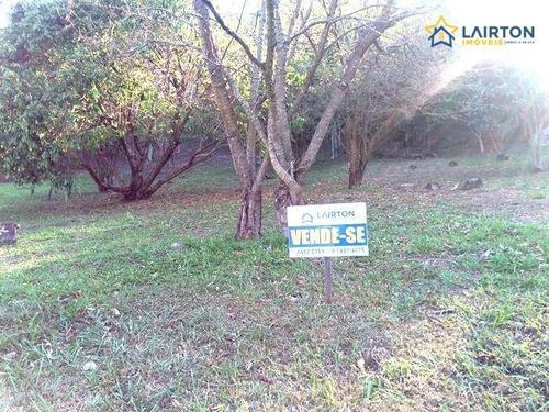 Imagem 1 de 12 de Terreno À Venda, 553 M² Por R$ 450.000,00 - Condomínio Residencial Água Verde - Atibaia/sp - Te0489